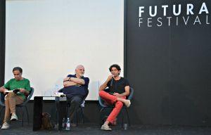 Da sinistra: Piero Travaglini, Gino Troli e Pier Franco Brandimarte