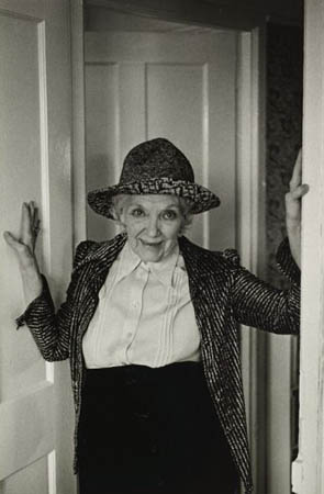 Jean Rhys.From the Fay Godwin Archive at the British Library